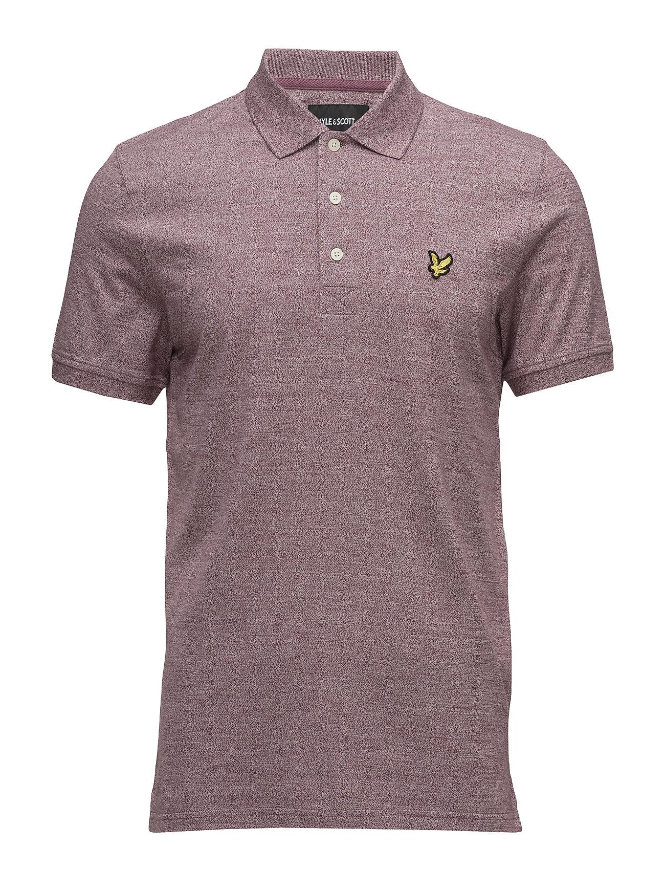 Mouline Polo Shirt Lyle & Scott Kortærmede polo t-shirts til Herrer i