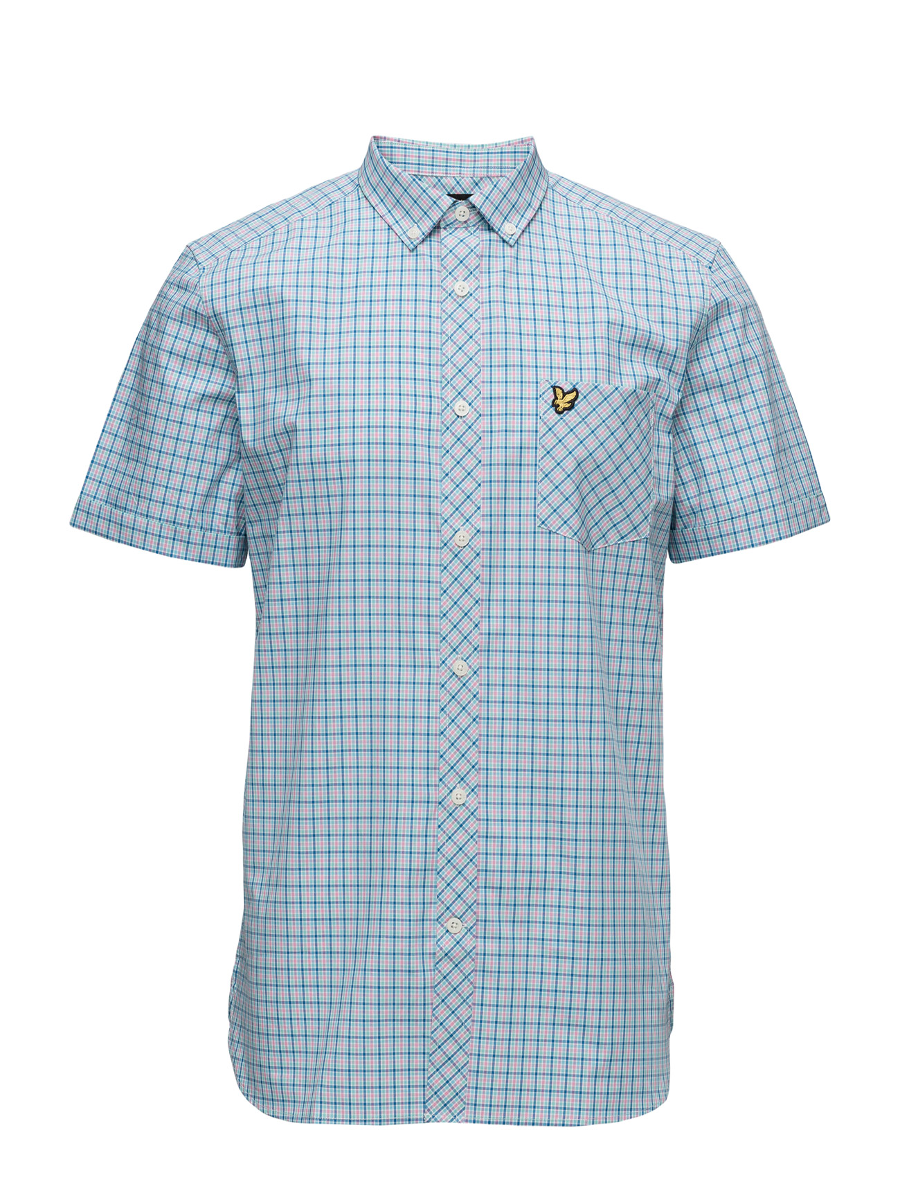 Micro Check Shirt Lyle & Scott Kortærmede til Herrer i