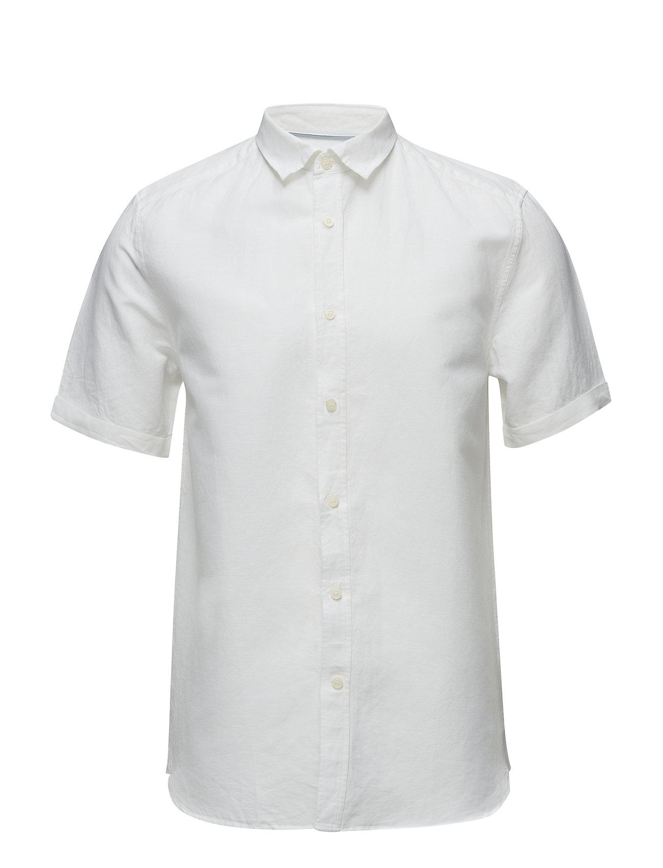 Textured Slub Shirt Lyle & Scott Trøjer til Mænd i hvid