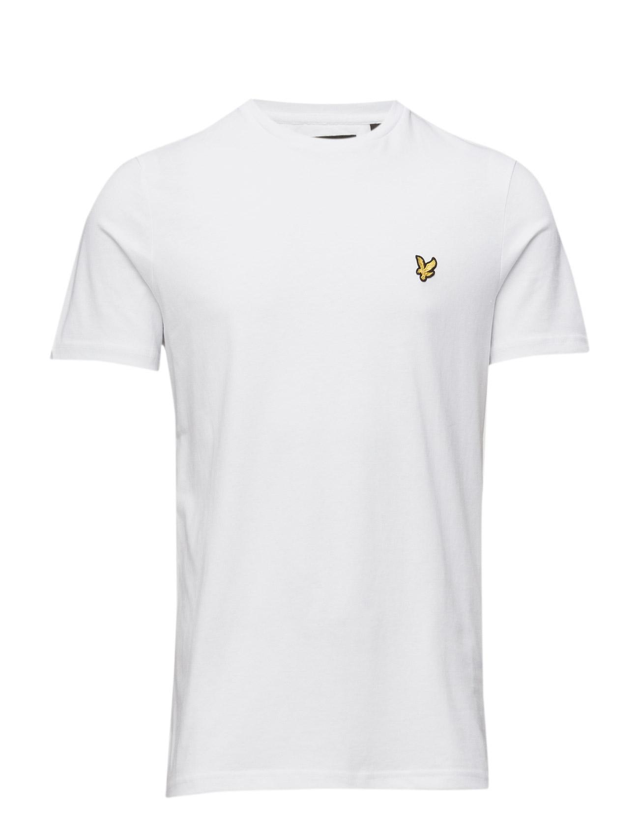 T-Shirt Lyle & Scott Kortærmede til Herrer i hvid
