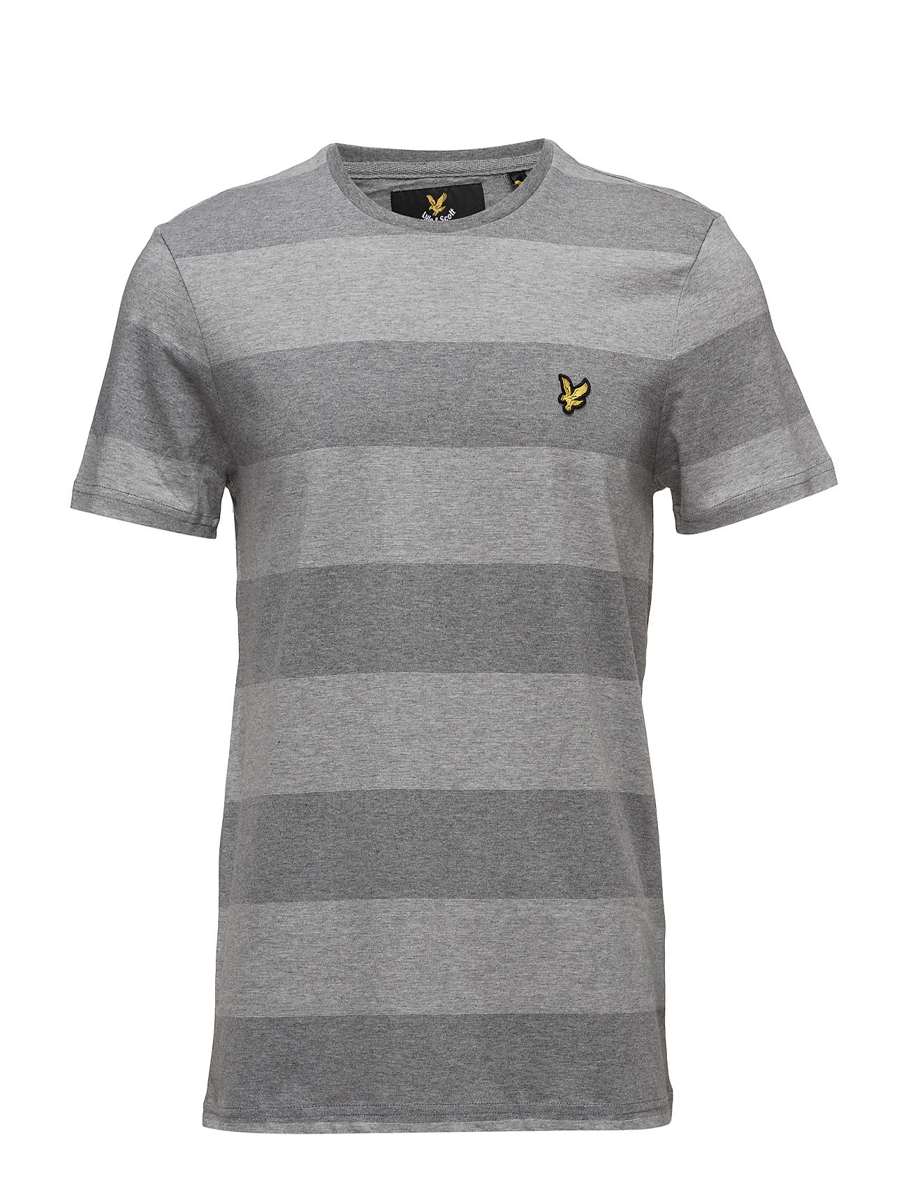 Wide Stripe T-Shirt Lyle & Scott Kortærmede til Herrer i