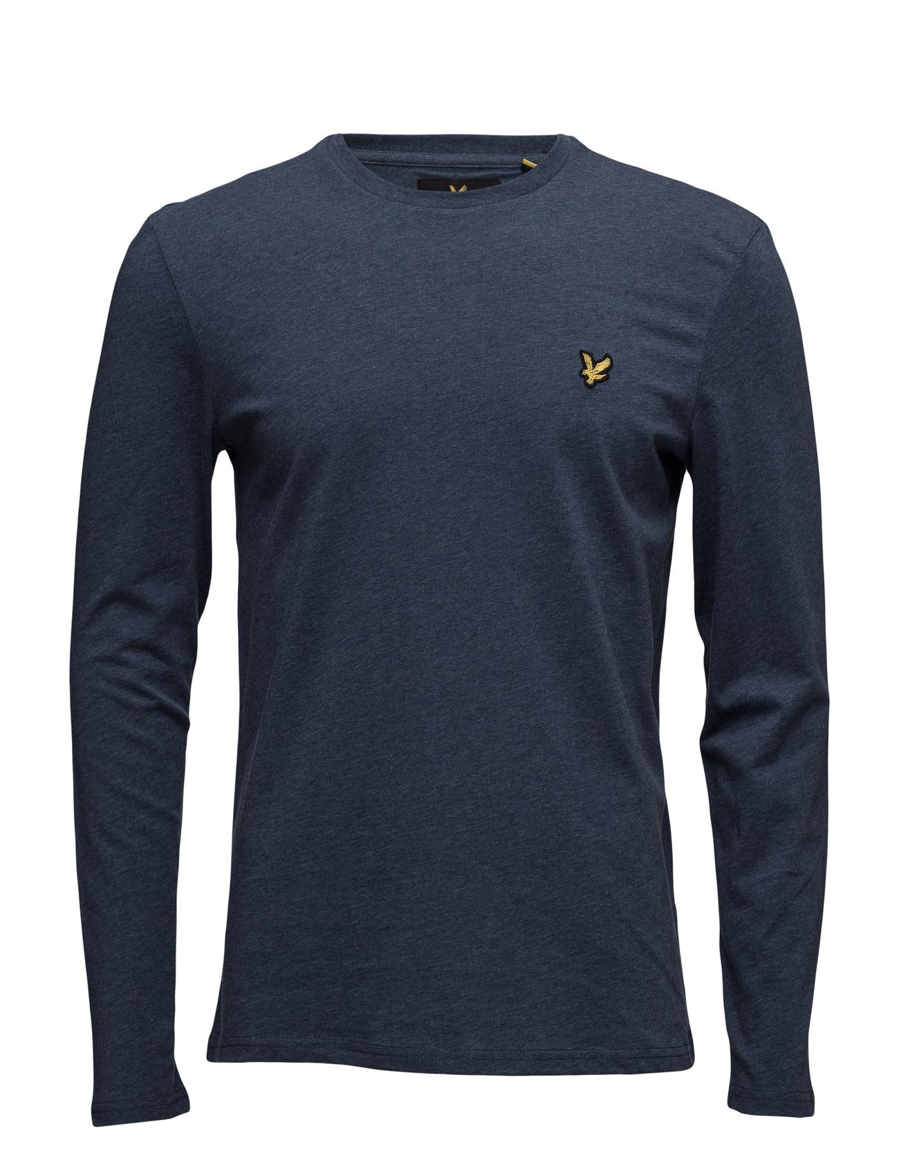 Ls Crew Neck T-Shirt Lyle & Scott T-shirts til Mænd i