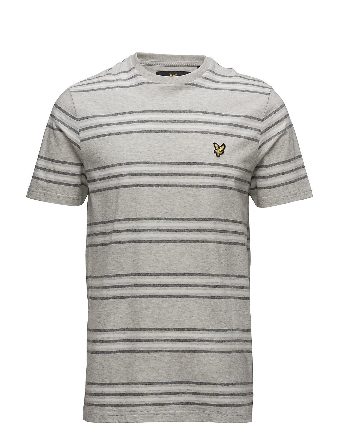 Stripe T-Shirt Lyle & Scott Kortærmede til Herrer i