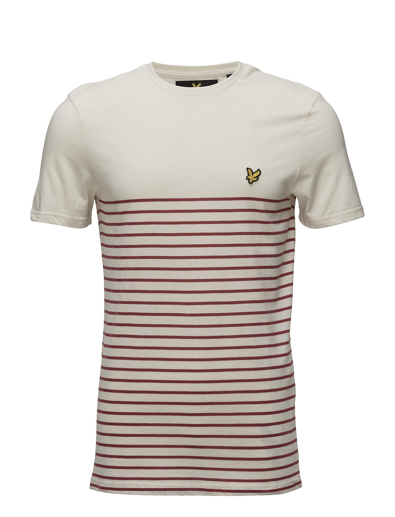 Breton Stripe T-Shirt Lyle & Scott Kortærmede til Herrer i