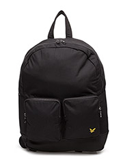 2 Pocket Rucksack - TRUE BLACK