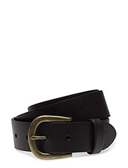 Leather Belt - DARK BROWN