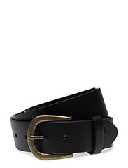 Leather Belt - TRUE BLACK