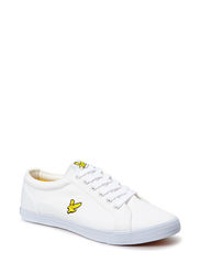 Halket canvas pump - White
