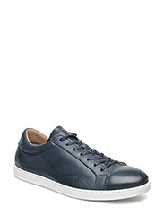 Findon Leather - DARK BLUE