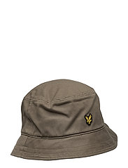 Cotton Twill Bucket Hat - KHAKI