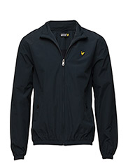 Funnel neck zip through jacket - New Navy