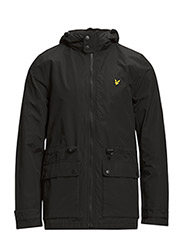 Microfleece lined jacket - True Black