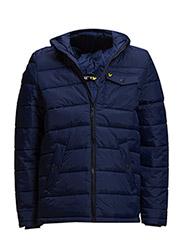 Wadded parka jacket - ADMIRAL BLUE