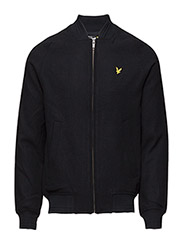 Ric-Rac Rib melton bomber jacket - NEW NAVY