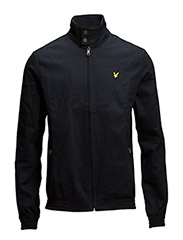 Lyle & Scott tartan lined harrington jacket - NEW NAVY