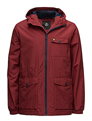Microfleece Lined Jacket - RUBY