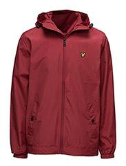 Zip through hooded jacket - RUBY
