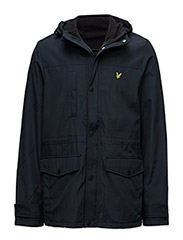 Microfleece lined jacket - NAVY JACKET