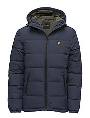 Wadded Jacket - NAVY JACKET