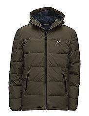 Wadded Jacket - OLIVE