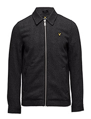 Collared Jacket - CHARCOAL MARL