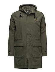 Lightweight Parka - DARK SAGE