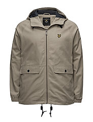 Cotton Zip Through Jacket - STONE