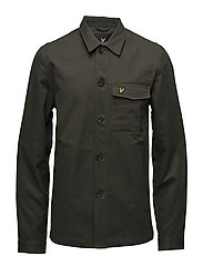 Shirt Jacket - DARK SAGE