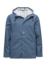 Zip front Raincoat - LIGHT TEAL