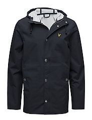 Zip front Raincoat - NAVY JACKET