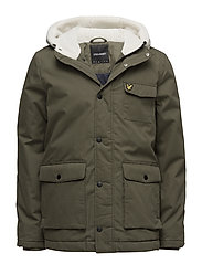Shearling Coat - OLIVE