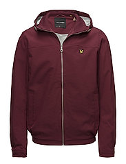 Jersey Lined Soft Shell Jacket - CLARET JUG