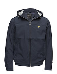 Jersey Lined Soft Shell Jacket - NAVY JACKET