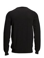 LS V neck cotton 12gg pullover