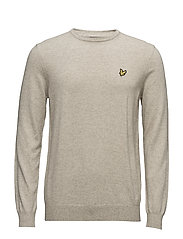 Crew Neck Cotton Merino 12gg Jumper