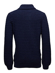 Shawl Neck Links 7GG Jumper