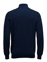 1/4 Zip Cotton Merino Jumper