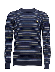 Pick Stitch Jumper - NAVY