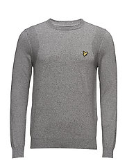 Mouline Jumper - LIGHT GREY MARL
