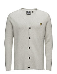 Milano Cardigan - LIGHT GREY MARL