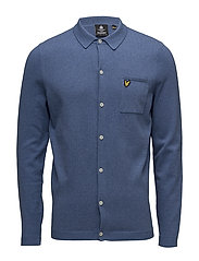 Knitted Shirt - STORM BLUE MARL