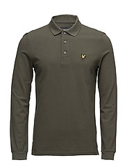 LS Polo Shirt - OLIVE