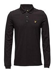LS Polo Shirt - TRUE BLACK