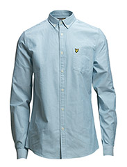 LS Oxford shirt - Turquoise