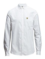 LS Oxford shirt - White
