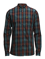 LS Lyle & Scott tartan shirt - New Navy