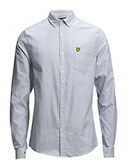 LS Oxford stripe shirt - Riviera
