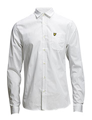 LS Poplin shirt - White