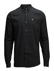 LS Marl shirt - CHARCOAL MARL