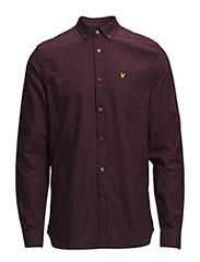 LS Oxford shirt - DEEP PLUM